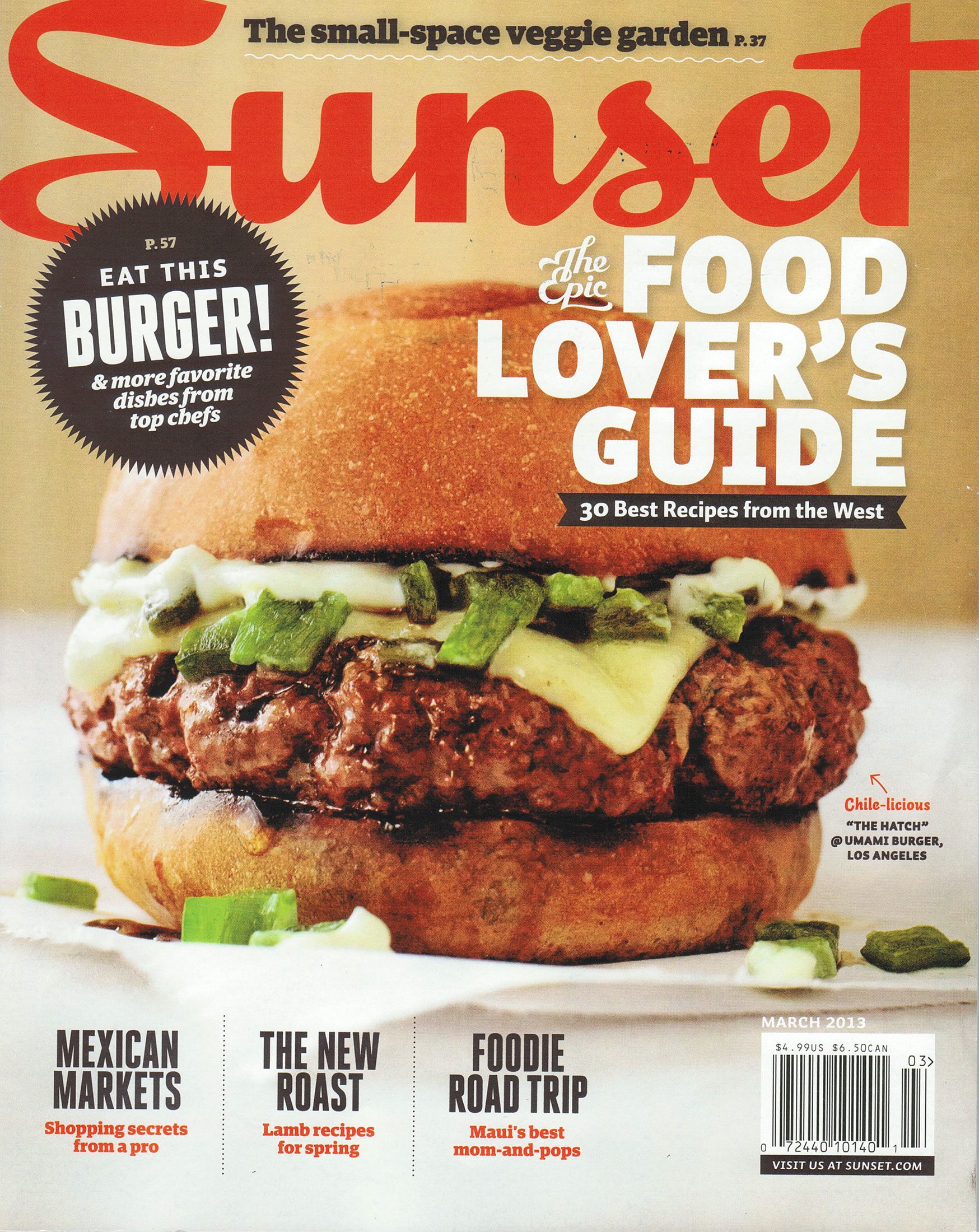 Sunset Magazine For March 2013 Always In Style Langer 39 S