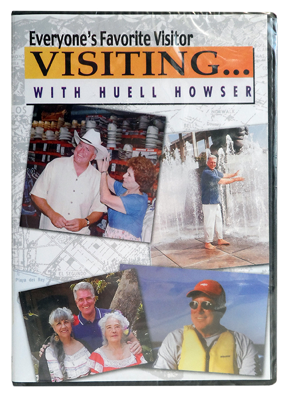 "Visiting with Huell Howser ""Cow Tongue"" Complete Episode DVD"