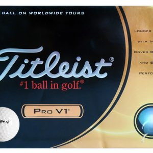 Langer's Titleist Pro V1 Golf Balls (Set)