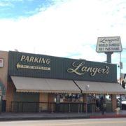 Langer's Deli storefront from the street