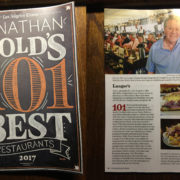 article featuring Langer's Deli in magazine