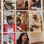 comic book page featuring the Number 19 sandwich