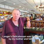 Langer's Delicatessen was founded by my mother and father