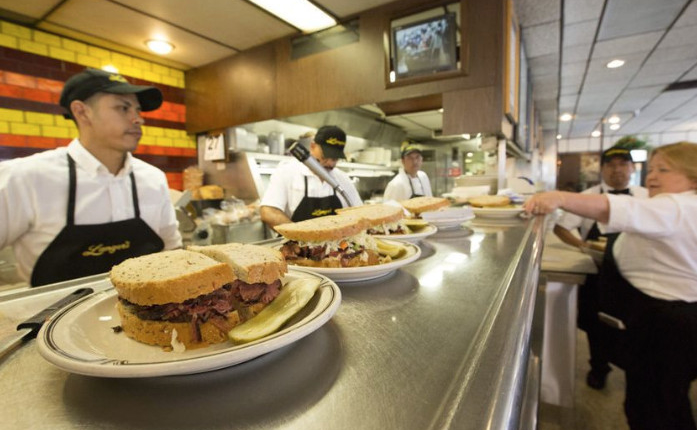 langer s deli is home of the original 19 and the world s best pastrami