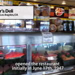 Langer's Deli opened initially on June 17, 1947