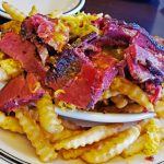 Pastrami chili cheese fries at Langer's Deli